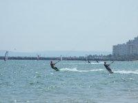 Disfruta de la practica del kitesurf