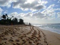 La playa de el Malecon para la practica