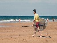 Equipamiento de paddle surf