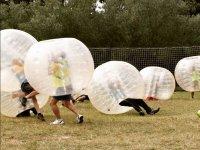 Futbol con bolas de plastico en Sant Celoni
