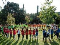 Juego en grupo en Sant Celoni