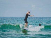 Campamento de surf en Zarautz