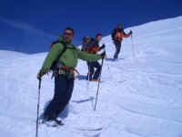 Dia de esqui en grupo