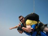 Salto de tándem en paracaídas en Valencia