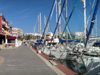 Boats in the Torrevieja port