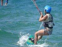 标志风筝冲浪风筝洗礼