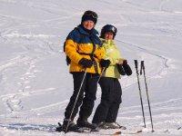 Sciare sulla neve