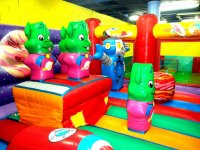 inflatable playground Murcia
