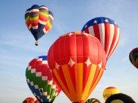跳伞热气球