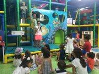 Espectaculos en el parque infantil