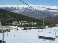 享受一天的滑雪