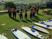 Warm-up sul surfcamp