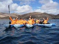 Gruppo in Kayak