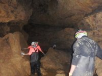 Caving with water monkeys