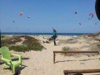 奥利瓦海滩是理想的kiters