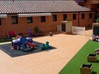 Exterior de la escuela