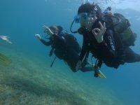 Bautismo de buceo en Tossa de Mar