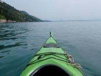 Kayak en el agua