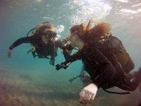 Buceando en Gran Canaria