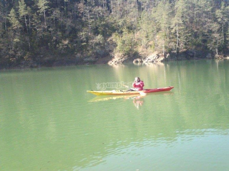 Equitazione in canoa