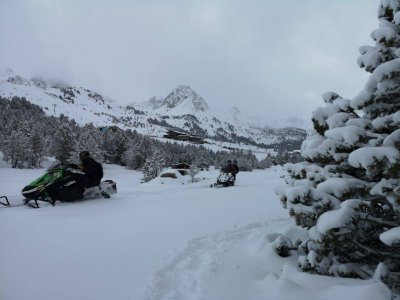 Roc Roi Andorra Motos de Nieve