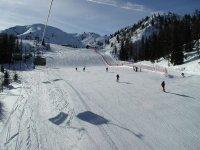 Esquiando en Huesca