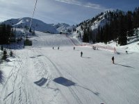 Skiing in the Pyrenees