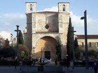 Iglesia de san Gines al atardecer