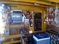 All'interno della barca