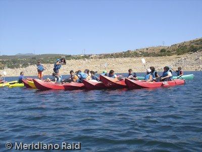 Meridiano Raid Canoas
