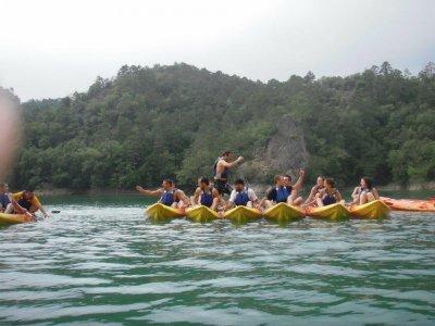 Doppia canoa 1h La Baells Reservoir