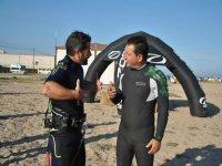 Taller de kitesurf