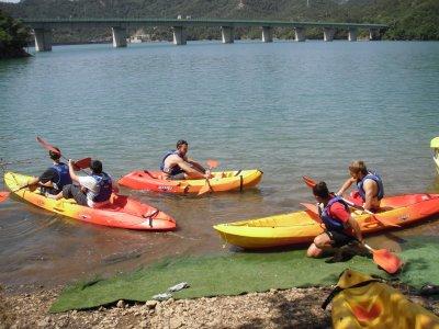 Doppia canoa 2h La Baells