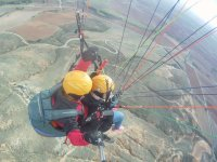 Paragliding with professional pilot
