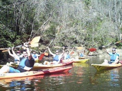 3 ore di canoa doppia nei Pirenei