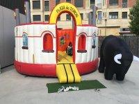 Plaza de toros hinchable