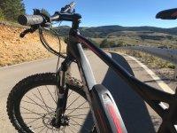 Mountain bike en Gudar