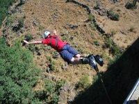Salto puenting en Buitrago