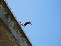 Salto de puenting sin miedo