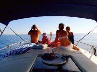 Paseos barco en la costa malagueña
