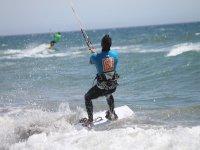 专业人员kiteboarding
