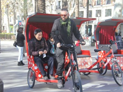 Tuc-Tuc Sevilla en Ruta Alquiler de Bicicletas