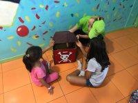 Treasure chest Las Palmas playground