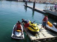 Have an adrenaline rush riding a jet ski in Valencia