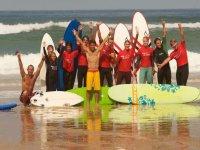 Nuestro surf camp te espera