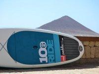 发生表桨冲浪