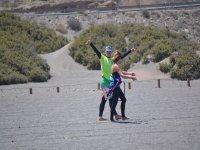 指示类风筝与学生和教师