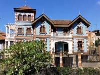 Casa de indianos en Villalegre