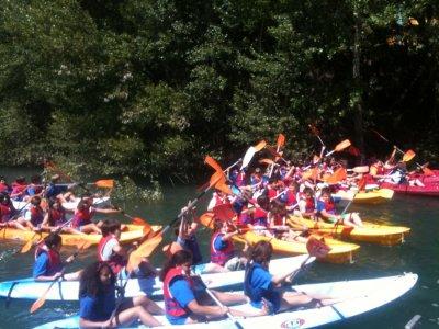 Famiglia di canoa 1h La Baells