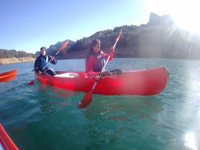 Pratica canoa